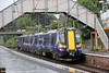 380015 calls at Kilwinning forming 2T38, 1458 Largs to Glasgow Central on 5th August 2012.