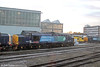 DRS 37419 'Carl Haviland' surrounded by a number of classmates at Derby RTC on 29th November 2012.