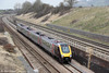 1V52, the 0601 Glasgow Central to Plymouth passes Standish on 22nd March 2012.