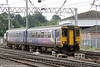 Northern's 156480 arrives at Carlisle forming 2C39, 0915 from Whitehaven on 4th August 2012.