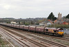 66188 passes Severn Tunnel Junction at the head of 4F70, 1222 Aberthaw Power Station to Avonmouth on 20th March 2012.