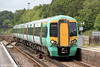 377209 calls at Fareham forming 1C77, 1533 Southampton Central to Horsham on 23rd June 2012.