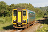 153323 approaches Gowerton forming 2E72, 1811 Swansea to Haverfordwest on 24th June 2012.