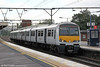 321358 calls at Shenfield forming 1F47, 1500 Braintree to London Liverpool Street on 25th August 2012.