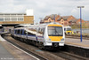 Chiltern's 168215 departs from Banbury forming 1H35, 1112 Birmingham Snow Hill to London Marylebone on 21st April 2012.