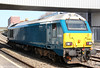 67003 returns through Newport as 0Z63, 159 Gloucester to Cardiff Central on 29th March 2012.