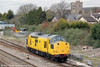 A welcome, if somewhat brief, visitor to South Wales on 21st March 2012 was Network Rail's 97301. It is seen passing Magor running as 0Z13, 0630 Derby RTC to Exeter Riverside Yard. In its previous life, 97301 carried the number 37100.