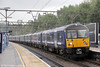360112 at Shenfield with 2F60, 1438 London Liverpool Street to Colchester on 25th August 2012.