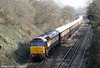 47832 'Solway Princess' at the rear of 5273, 1235 Fishguard Harbour to Clarbeston Road and return on 2nd March 2012.