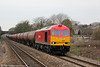 60063 is seen at Pyle with 6B13, 0505 Robeston to Westerleigh on 16th March 2012.