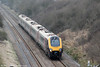 A XC class 221 passes Standish forming 1S45, 0925 PLymouth to Aberdeen on 22nd March 2012.