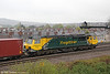 70008 at Maindee West Junction with 4O51, 0955 Wentloog to Southampton on 27th April 2012.