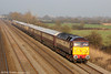 47832  'Solway Princess' passes Coedkernew with 5Z71, 1329 Crewe to Cardiff Central Northern Belle ECS on 1st March, 2012. 47790 'Galloway Princess' was at the rear.