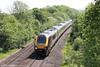 An unidentified XC class 221 passes Ram Hill forming 1V47, 0807 Manchester Piccadilly to Paignton on 26th May 2012.