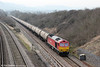 60011 passes Standish with 6E41, 1141 Westerleigh to Lindsey Oil Refinery on 22nd March 2012.