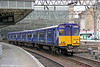 314204 leaves Glasgow Central again, now forming 2N34, 1735 back to Neilston on 4th August 2012.
