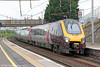 XC 220033 calls at Motherwell forming 1V64, 1151 Glasgow Central to Plymouth on 5th August 2012.