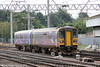 153307 leads 153360 into Carlisle, forming 2C41, 0910 from Barrow-in-Furness on 7th August 2012.