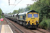 66506 'Crewe Regeneration ' at Holytown with 4C07, 1326 Longannet Power Station to Ravenstruther on 6th August 2012.