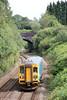 153353 passes Cockett forming 2M39, 1526 Swansea to Shrewsbury on 12th August 2012.