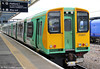 313201 waits at Havant while forming 2N67, 1354 Littlehampton to Portsmouth & Southsea on 23rd June 2012.