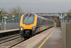 A XC class 220 passes Cam & Dursley forming 1V48, 0645 Newcastle to Exeter St Davids on 18th February 2012.