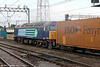 57004 is seen at Crewe with the late running 4V38, 0232 Ditton to Tees Dock on 4th August 2012.