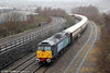 47501 'Craftsman' approaches Swansea with 1Z27, 1137 Newport to Fishguard Harbour 'Northern Belle' on 19th December 2012.
