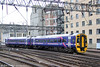 Scotrail maintains a fleet of 46 class 158s. Old-liveried 158741 departs from Glasgow Central forming 2R24, 0817 to Whifflet on 6th August 2012.