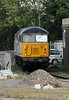 DCR 56303 is seen stabled at Cardiff Riverside on 1st September 2012.