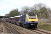 43135 passes Pyle with 1L21, 1028 Swansea to London Paddington on 4th March 2012.