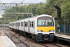 321446 is seen at Shenfield forming 1K58, 1455 London Liverpool Street to Southend Victoria on 25th August 2012.