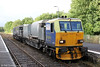 NR MPV DR98959 and DR98909 waits at Llandeilo running as 6Z10, 1015 Margam to Margam via Hereford, Craven Arms and Llandrindod Wells for weedkilling on 1st August 2012.