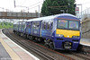 320313 is seen at Motherwell forming 2B38, 1141 Milngavie to Lanark on 5th August 2012.