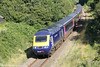43041 'Meningitis Trust Support For Life' heads 1B40, 1337 London Paddington to Carmarthen through Waunarlwydd on 12th August 2012.