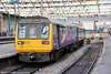 Northern's 142071 waits at Carlisle, ready to depart at 1028 with 2N20 to Newcastle on 4th August 2012.