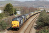 37603 and 37606 bring up the rear of Pathfinder's 1Z66, 1036 Tondu to Cwmgwrach via GCG, 'The Coal Grinder' railtour at Neath on 24th March 2012.