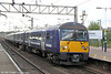 360111 calls at Colchester forming 1Y20, 1602 London Liverpool Street to Ipswich on 26th August 2012.
