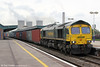66956 passes Didcot Parkway with 4O51, 1244 Wentloog to Southampton on 19th May 2012.