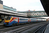 222015 waits at Nottingham forming 1B56, 1502 to London St. Pancras on 29th November 2012.