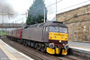 WCRC 47760 passes Motherwell with 5Z54, 1040 Perth to Carnforth on 5th August 2012.