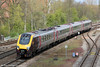 XC 220025 approaches Banbury forming 1O84, 0735 Newcastle to Southampton on 21st April 2012.