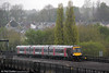 Cross Country's 1M01, the 0845 Cardiff Central to Nottingham in the form of 170636 leaves Newport on 27th April 2012.
