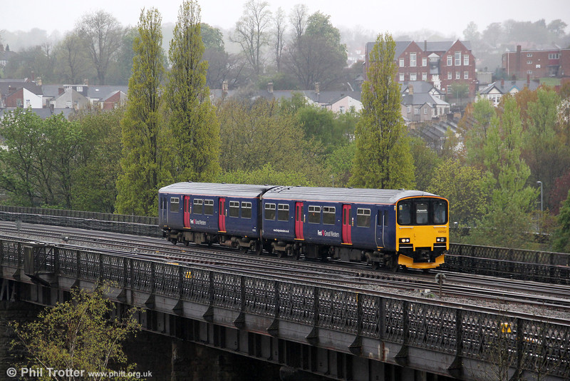 150102 leaves Newport with 2C69, 0900 Cardiff Central to Plymouth on 27th April 2012.