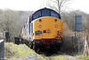 37603 and 37606 again, south of Croesfan Crossing, Gwaun Cae Gurwen on 24th March 2012.