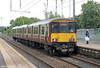 318260 calls at Holytown forming 2F19, 1353 Lanark to Milngavie on 6th August 2012,