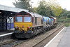 66126 brings up the rear of 3S59, the Bristol Barton Hill RHTT on 26th October 2013.