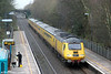 With preparations under way for a predicted cold snap, 43013 passes Skewen with 1Z20, 1010 Swansea to Derby RTC on 11th January 2013.