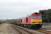 60007 'The Spirit of Tom Kendell' passes Llangennech with 6L42, 1348 Trostre Works to Tilbury on 10th March 2013.