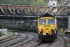 66511 at Newport with 6F53, 1400 Newport Docks to Uskmouth on 14th May 2013.